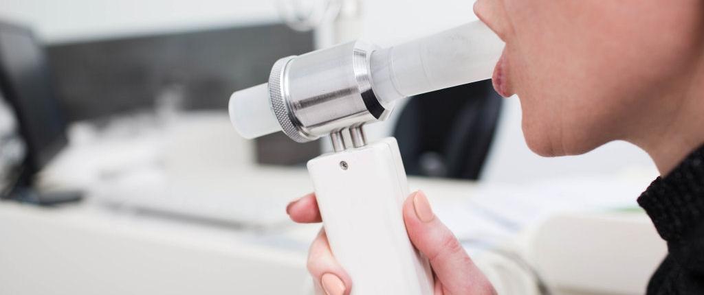 Lungenfunktionstest bei Rheuma Diagnostik