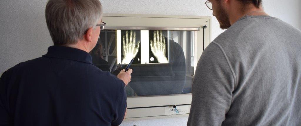 Röntgen Bilder für Rheuma Diagnostik
